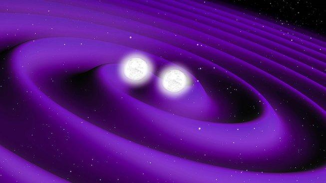 Srážka dvou neutronových hvězd