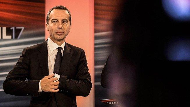 Šéf rakouských sociálních demokratů Christian Kern
