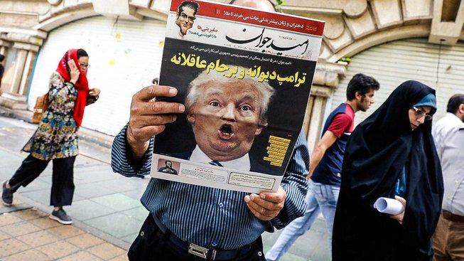 Teherán po Trumpovu prohlášení