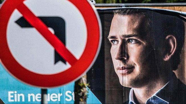 Předvolební billboard rakouských lidovců