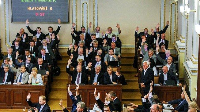 Poslanecká sněmovna. Ilustrační snímek