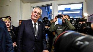 Prezident Miloš Zeman svůj plán oznámil deníku Blesk