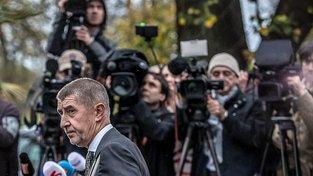 Andrej Babiš po setkání s českým prezidentem v Lánech