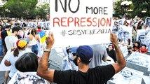 Brusel ocenil venezuelské demokraty, poslanci protestovali