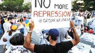 Červencová demonstrace v New Yorku