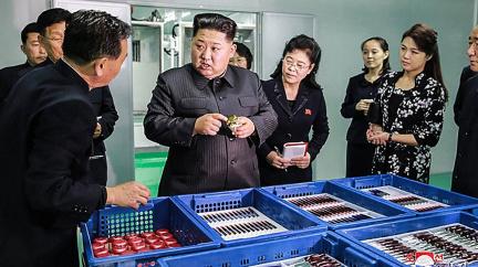 Kim má v rukávu i chemické zbraně... a klidně je použije