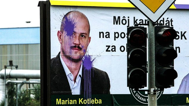 Marian Kotleba znovu kandiduje na župana