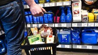 Německé obchodní řetězce spouštějí vlastní výrobu. Ilustrační snímek