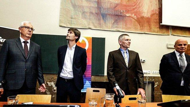 Jiří Drahoš, Marek Hilšer, Jiří Hynek a Michal Horáček patří mezi devítku uchazečů o post českého prezidenta