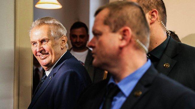 Prezident Miloš Zeman se v Rusku setká s Putinem i Gorbačovem