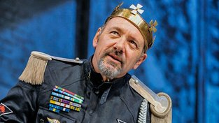 Kevin Spacey jako Richard III.