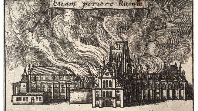 Wenceslas_Hollar_-_St_Paul's_burning_(Lex_ignea)_(State_4)