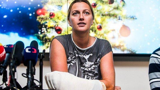 Policie nedopadla útočníka, který zranil Kvitovou