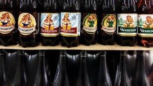 V ruském supermarketu