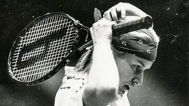 Wimbledonská vítězka Jana Novotná