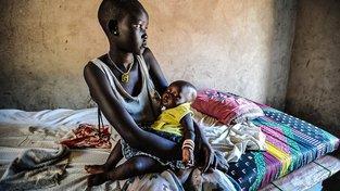 Kvůli nuceným sňatkům s nezletilými je v části Afriky stále běžné, že děti mají děti. Ilustrační snímek