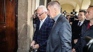 Policie znovu požádala o vydání Andreje Babiše a Jaroslava Faltýnka