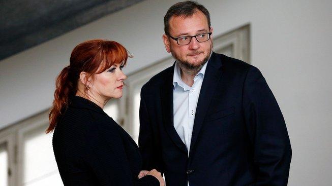 Petr Nečas a Jana Nečasová