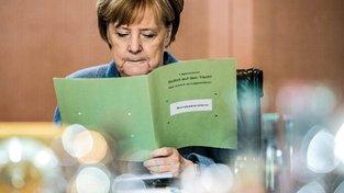 Stahují se po krachu koaličních jednání mračna nad Angelou Merkelovou?