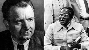 Gottwald a Mugabe