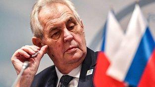 Miloš Zeman v Rusku