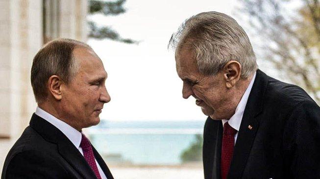 Putin a Zeman