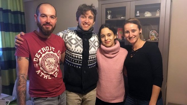 ceska rodina s rodinou z Ruska