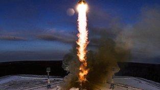 Start rakety Sojuz-2.1b byl teprve druhý v historii nového ruského kosmodromu Vostočnyj