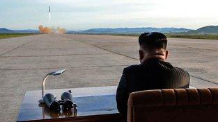 Kim Čong-un na odpališti