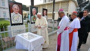 Papež František při setkání s biskupy v Bangladéši
