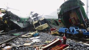 Železniční neštěstí se odehrálo v srpnu 2008