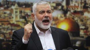 Vůdce palestinské radikální organizace Hamás Ismáíl Haníja