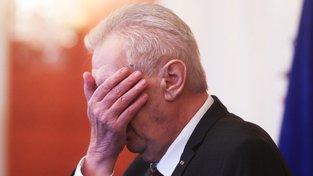 Prezident Miloš Zeman na Pražském hradě při jmenování Andreje Babiše premiérem