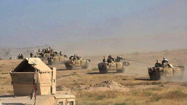 Irácké jednotky