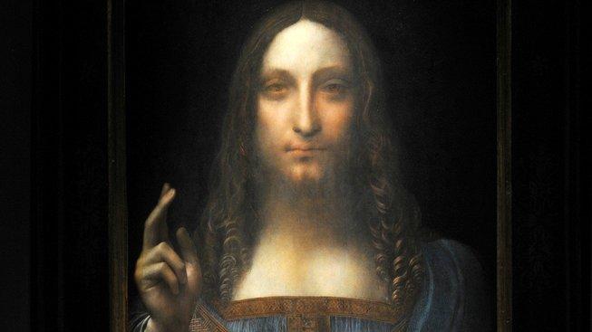 Da Vinciho obraz Salvator Mundi