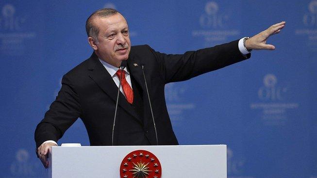 Turecký prezident kritizoval Izrael
