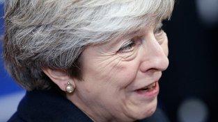Theresa Mayová už se pátečních jednání nezúčastnila