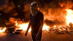 Protesty v Hondurasu