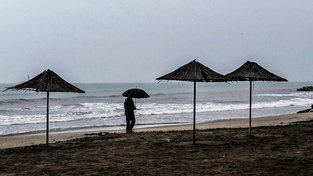 Albánské pobřeží bojuje s rozsáhlou erozí