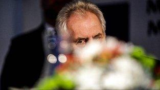Prezident Miloš Zeman při listopadové návštěvě Jihomoravského kraje