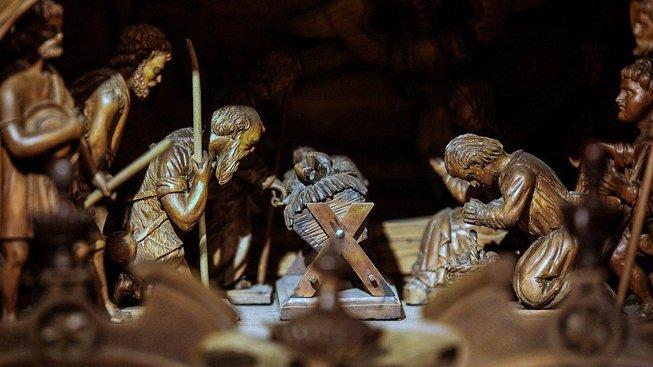 Třebechovický betlém začal vznikat v roce 1882