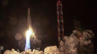 Úterní start družice