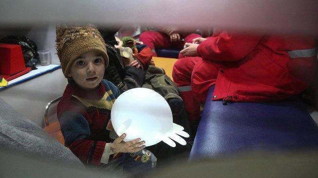 Evakuace nemocných z rebely ovládaného území