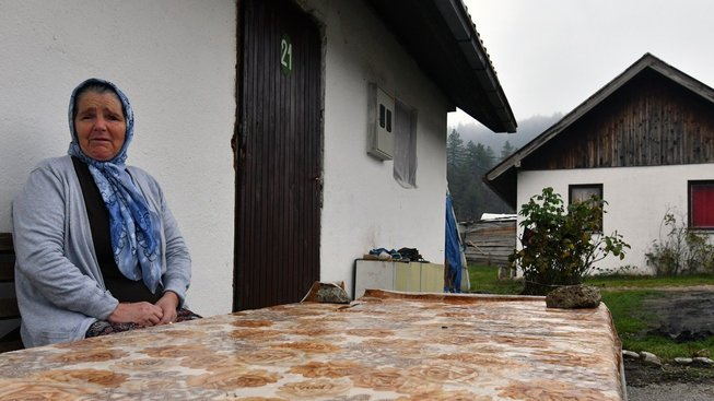 Bosenské město Sanski Most stárne, mladí odcházejí za prací do západní Evropy. Ilustrační snímek