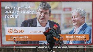 Volební plakát ČSSD