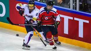 Jižní a Severní Korea by mohly pro olympiádu vytvořit společný hokejový tým