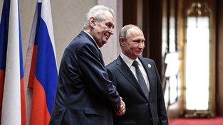 Zeman je velkým podporovatelem českého dialogu s Ruskem