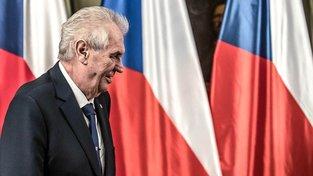 Prezident Miloš Zeman vystoupil před sněmovnou