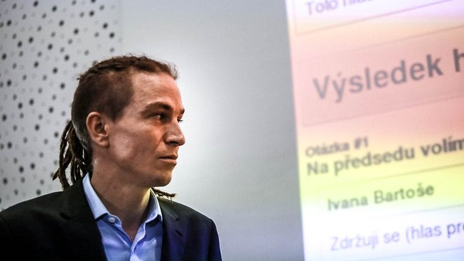 Šéf Pirátů Ivan Bartoš