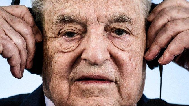 Miliardář, spekulant a filantrop George Soros